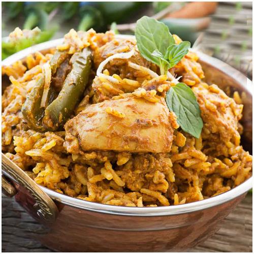 Special Chicken Biryani chandrika