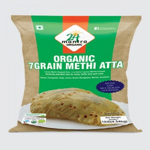 Organic 7 Grain Methi Atta - 1Kg