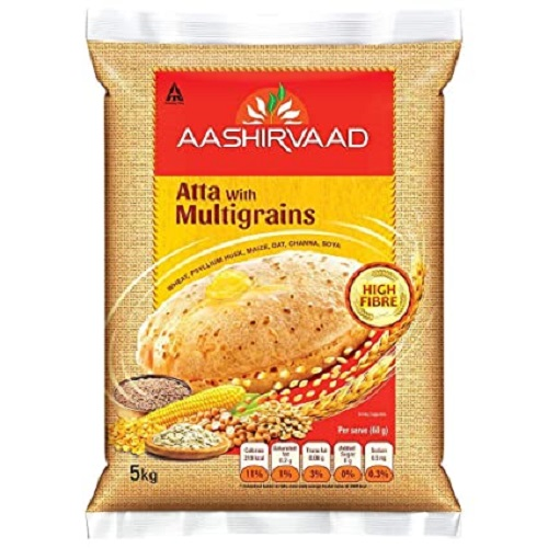 Aata (Godhuma Pindi) - Aashirvaad Multigrain 1Kg