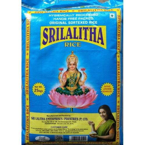 Lalitha Swarna(Blue) Rice bag