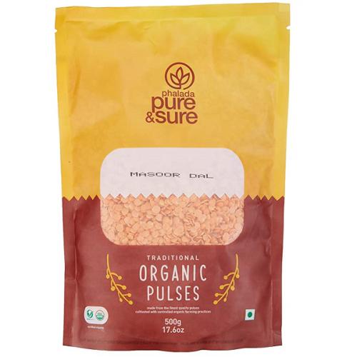 Organic Massor Dal(Yerra Kandipappu) - 500gm