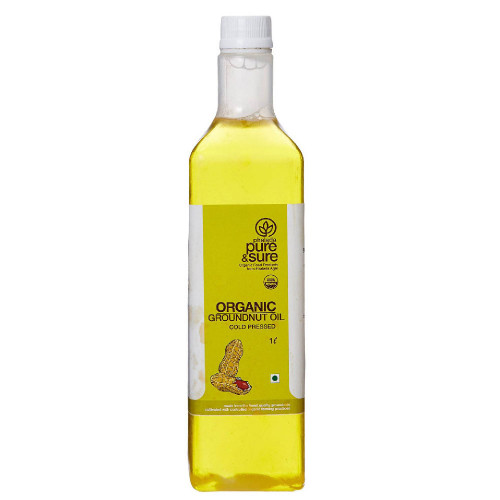 Organic  Groundnut Oil(Chekka ganuga)