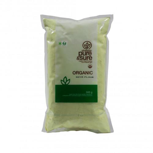 Organic  Soya Flour - 500gm