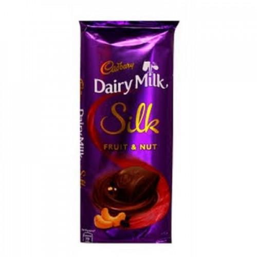 Cadbury Dairy Milk Silk Fruit N nut - 137gm